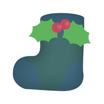 크리스마스 부츠, 파랑