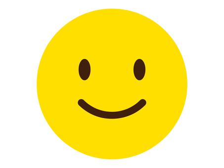 微笑的臉圖標