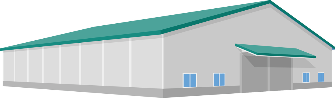Building warehouse three-dimensional