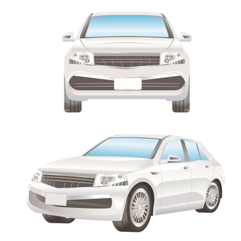 Car front and side set SUV