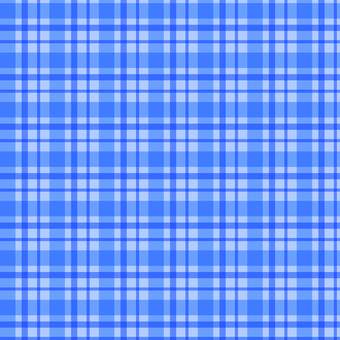 Blue check pattern