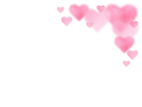 Watercolor texture fluffy heart frame