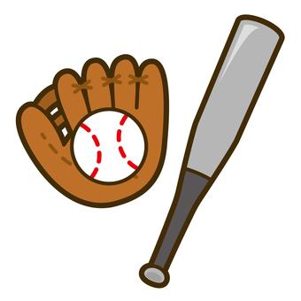 野球 バット・グローブ