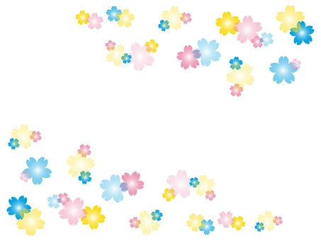 Cherry blossom pastel
