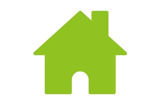 Home button Green