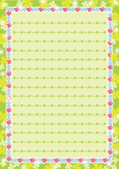 Sparkling stationery (field)