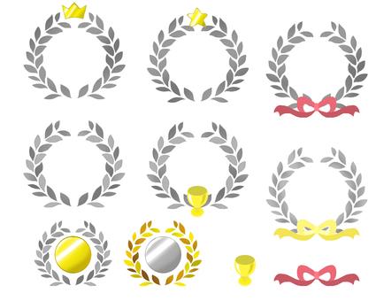 The crown of laurel