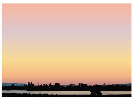 Sunset, morning glow, dawn 4