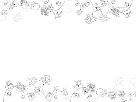 Flower frame ver17