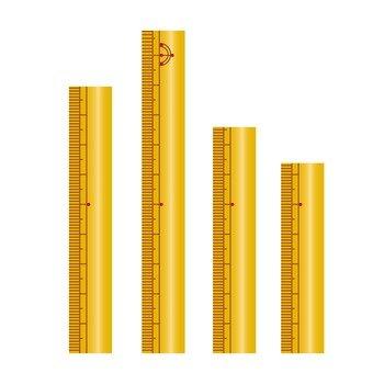 Measure ruler chart