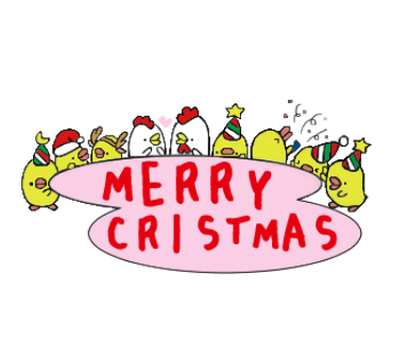 Christmas of the chick family
