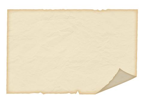Retro sticky paper