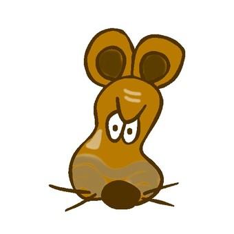 쥐 얼굴 003