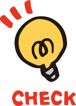Icon (light bulb / check)