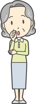 老頭鮑勃女 -  107  - 全身
