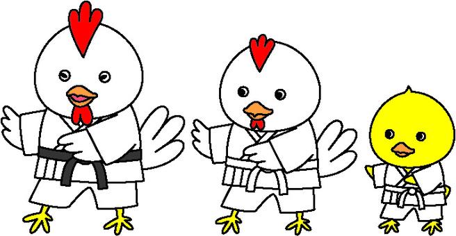 Chickens / Karate 1