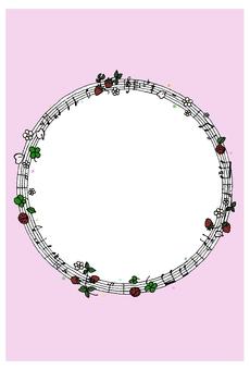 Frames notation strawberry lance Pink