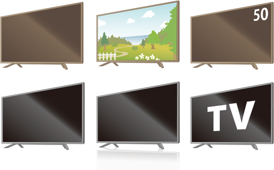 Large screen television