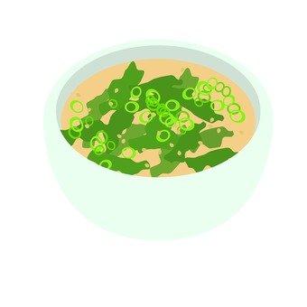 Wakame soup