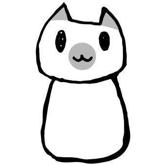 Loose cat (point ash)