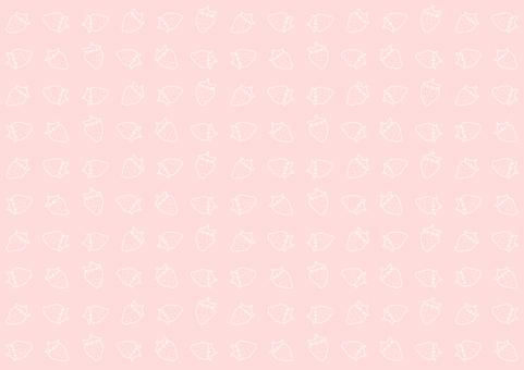 봄의 휘어있는 딸기의 배경