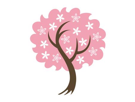 도안 벚꽃 나무 10