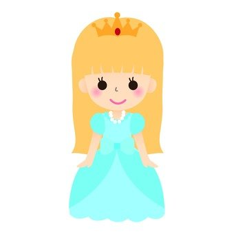Princess (light blue dress)