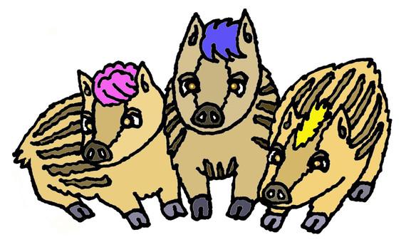 Three Uribo
