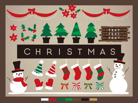 クリスマス素材集3-1
