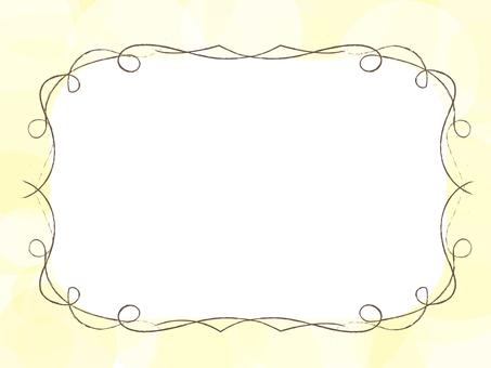 简单的框架(黄色)
