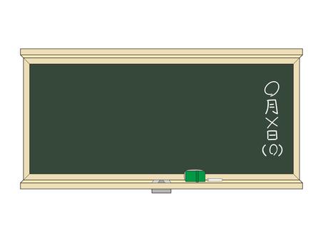 Blackboard / date entry