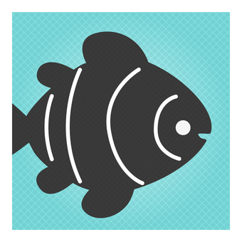 Business icon (clownfish)