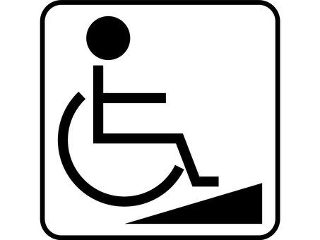 Design wheel chair slope