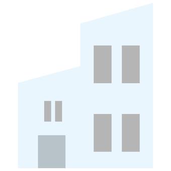 거리 및 _ 건축 자재