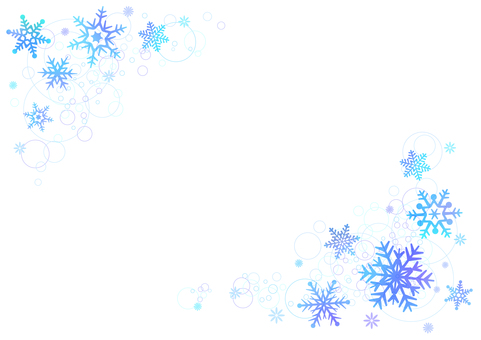 【Ai, png, jpeg】 Winter Material 96