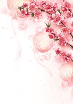 桃花与农历新年