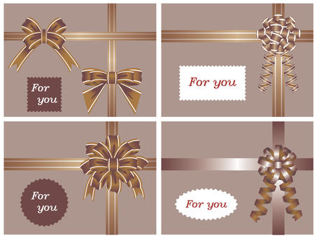 Ribbon_ Decoration _ Brown