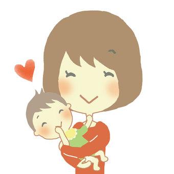 엄마와 아기 6