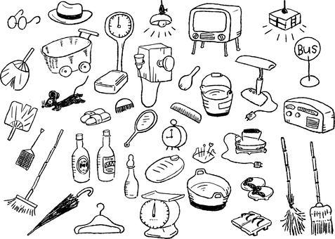 Set 15_01 (Showa's daily necessities)