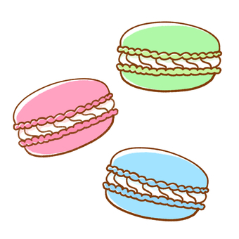 마카롱 (3 개)
