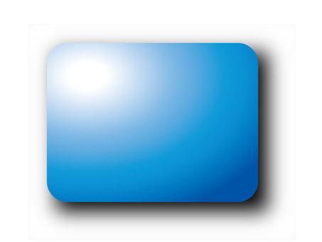 Blue rounded corner