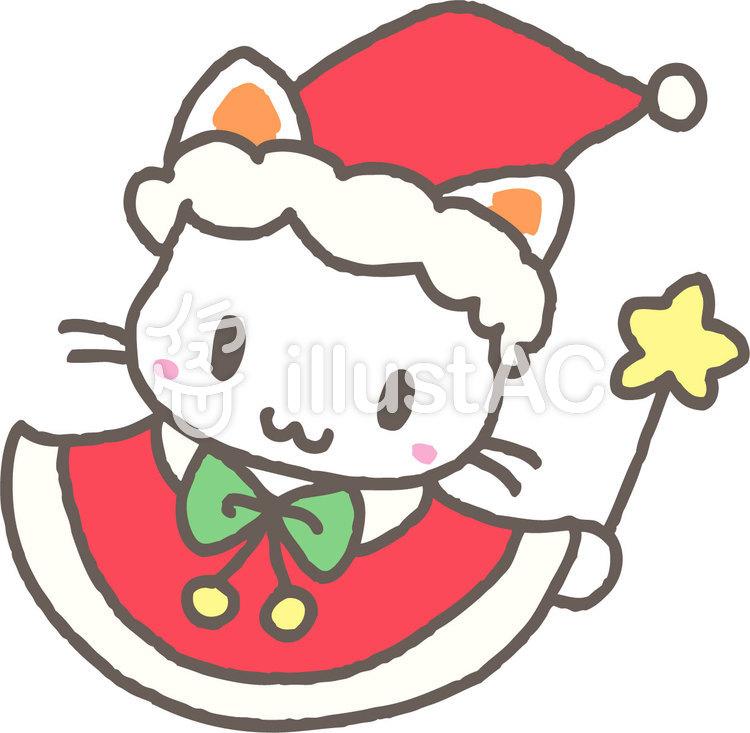 クリスマスねこイラスト No 595670無料イラストならイラストac