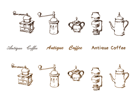 Coffee - antique style