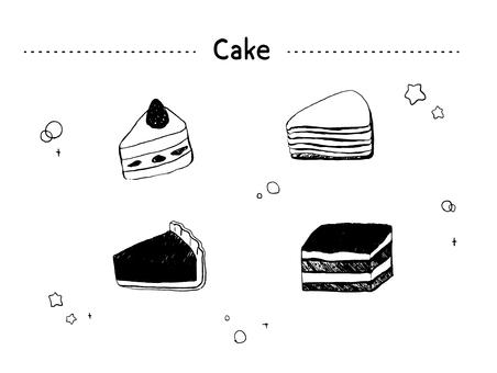 케이크 세트