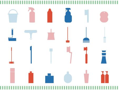 Cleaning toy icon