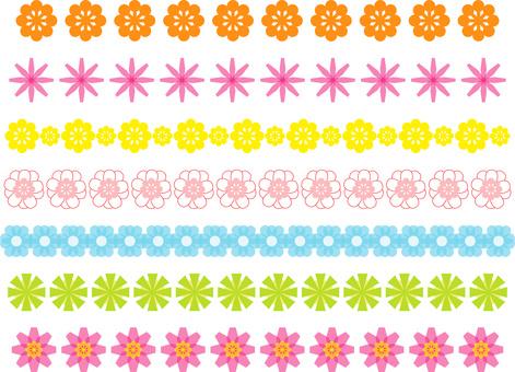 花材料線裝飾