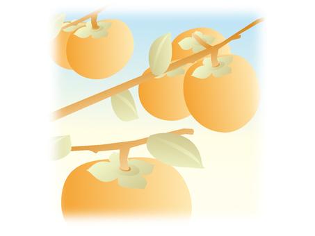 Autumn illustration material 03