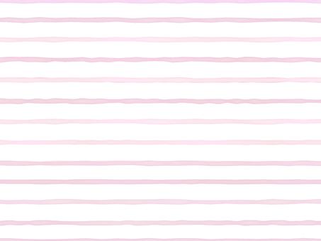 水彩背景 ボーダー ピンク