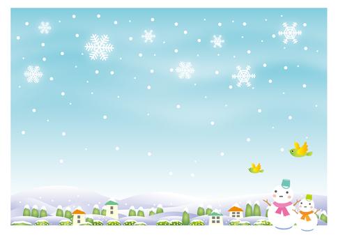 Snow scene 3