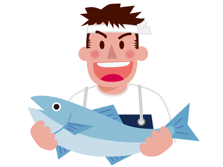 Various occupations - fishmen